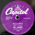 469_Ray_Anthony_Dragnet_78rpm_label